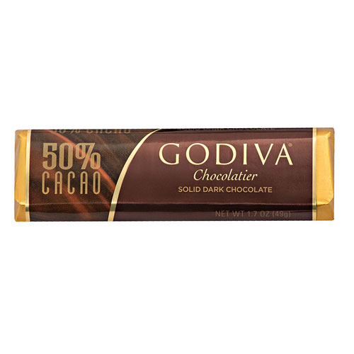 Godiva Bar Dark Chocolate 50%
