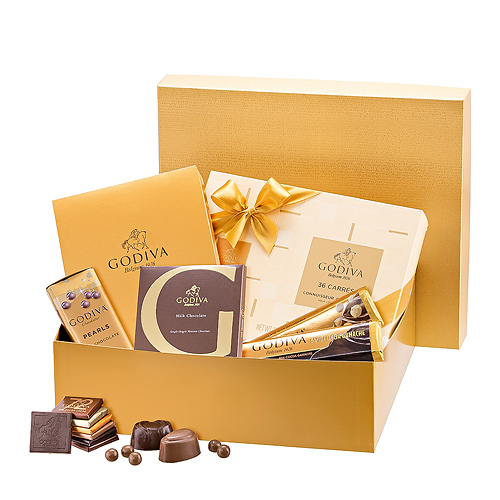 Godiva Chocolate Golden Classics Gift Box