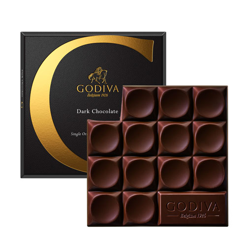 Godiva Tablet Pure Chocolade, 79 g