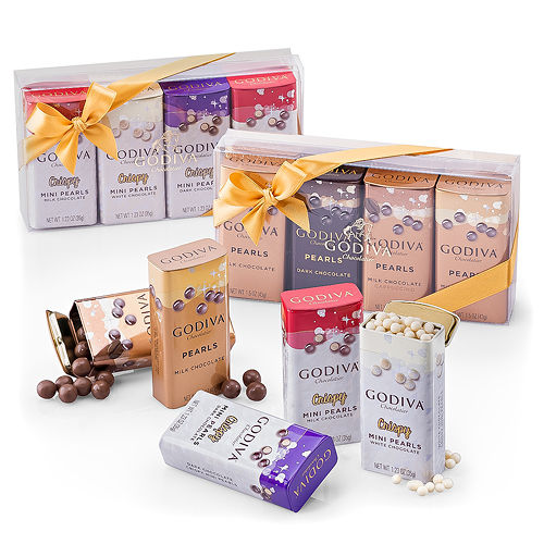 Godiva Shiny Pearls Assortiment