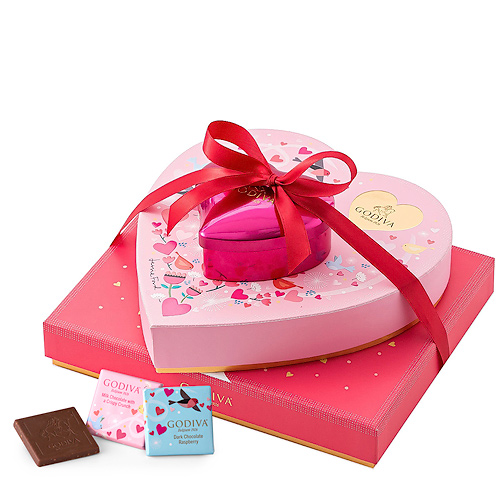 Godiva Valentine Romantic Tower - Delivery in Europe Others - Godiva