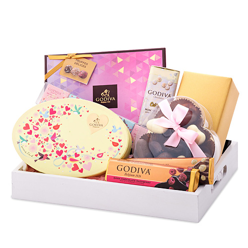 Godiva Luxurious Tray Chocolates