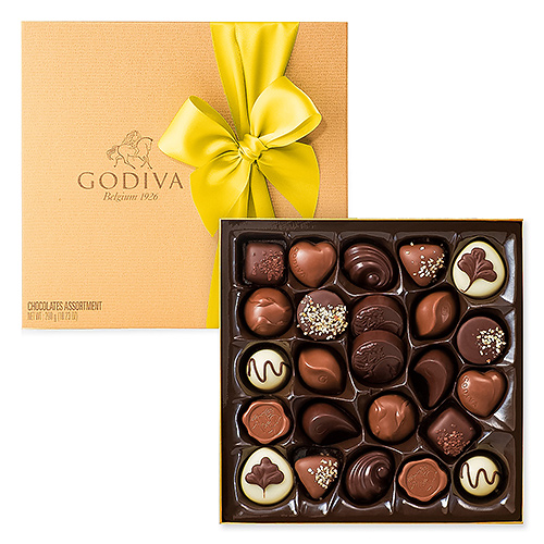 Godiva Easter Gold Box, 24 pcs