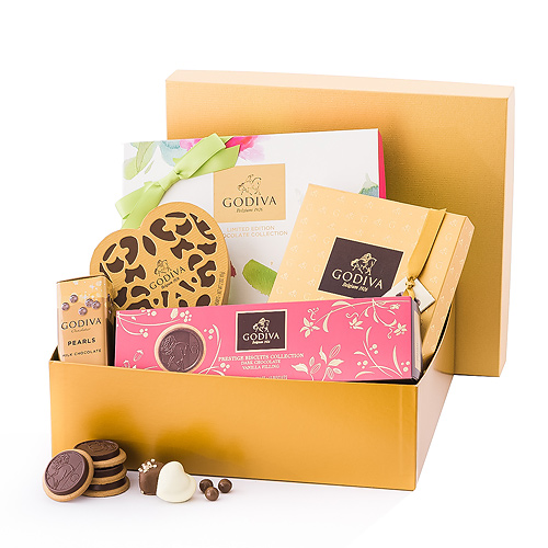 Godiva Lovely Gold Gift Box