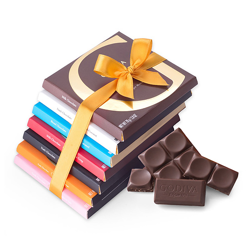 Godiva Assortiment de Tablettes 'G'
