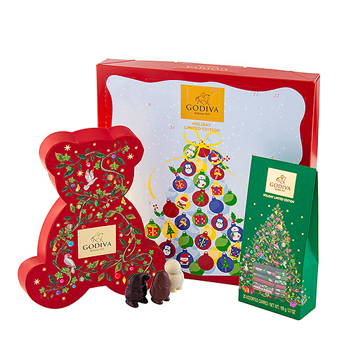 Godiva Advent: Countdown to Christmas