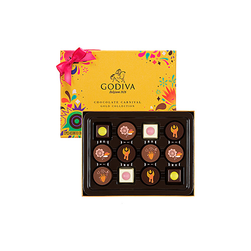 Godiva Carnival Gold Collection, 12 st