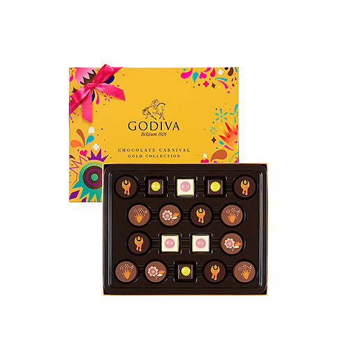 Godiva Carnival Gold Collection, 18 st