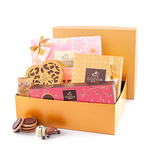 Godiva Golden Gift Box Spring edition
