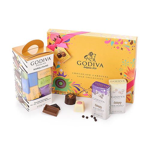 Godiva Opwindende Carnival Collection Geschenkset