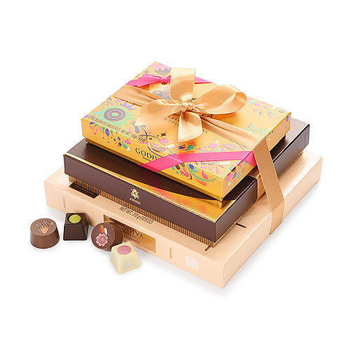 Godiva Carnival Collection Geschenktoren