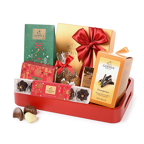 Godiva Chocolates Christmas Joy