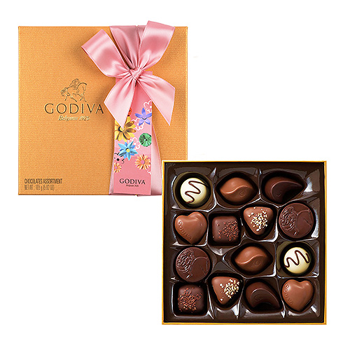 Godiva Mother's Day : Gold Rigid, 14 pcs