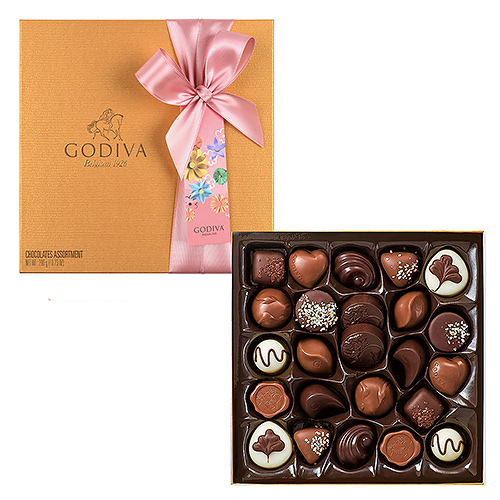 Godiva Mother's Day : Gold Rigid, 24 pcs