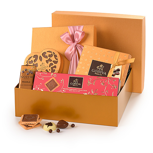 Godiva Mother's Day Gold Hamper