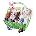 Godiva Basket with Easter Eggs and Chocolate [01]