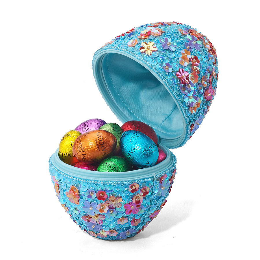 Godiva easter beaded egg with 15 little filled eggs delivery in godiva easter beaded egg with 15 little filled eggs 01 negle Images