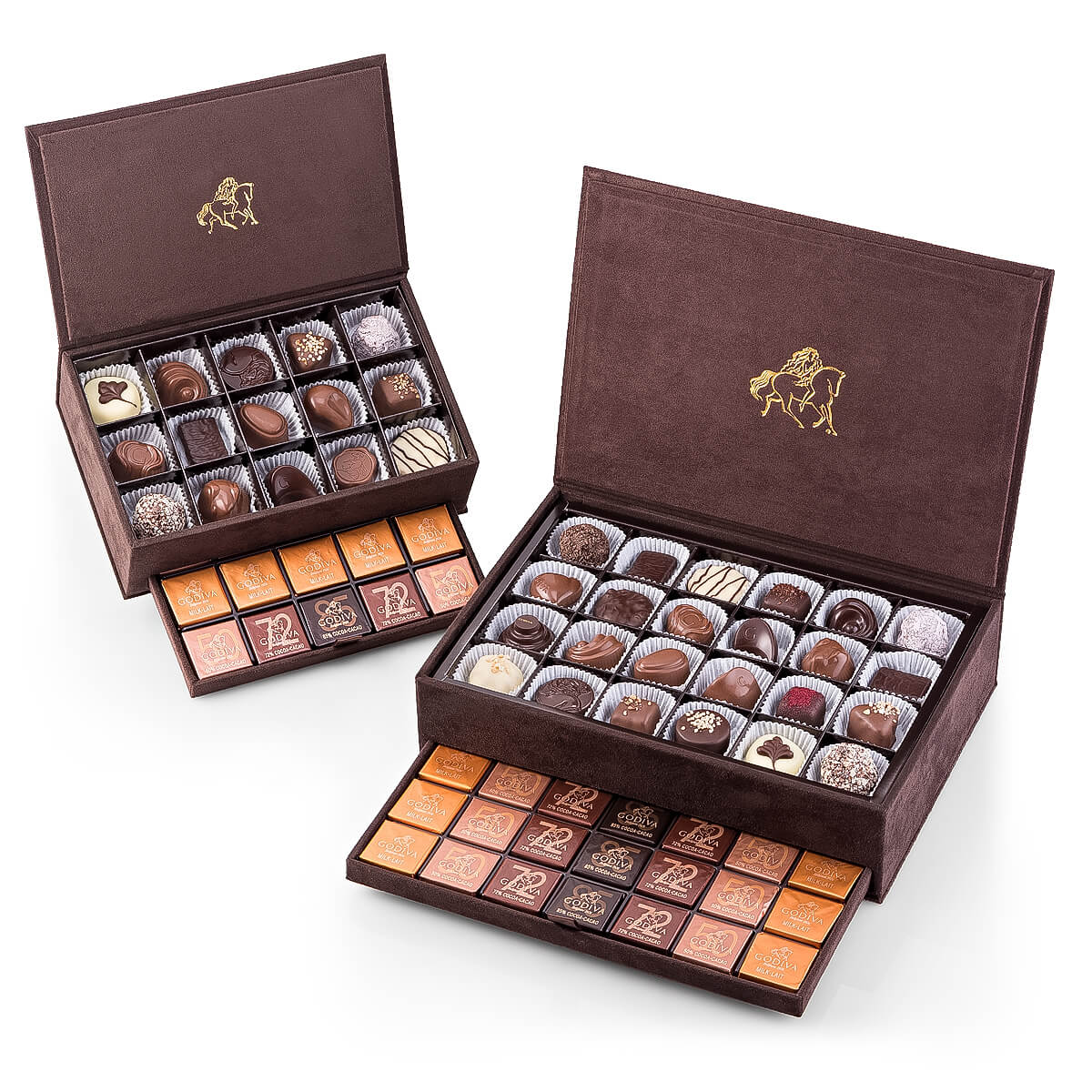 Gift Box Of Chocolates : Godiva royal gift box large delivery in europe others
