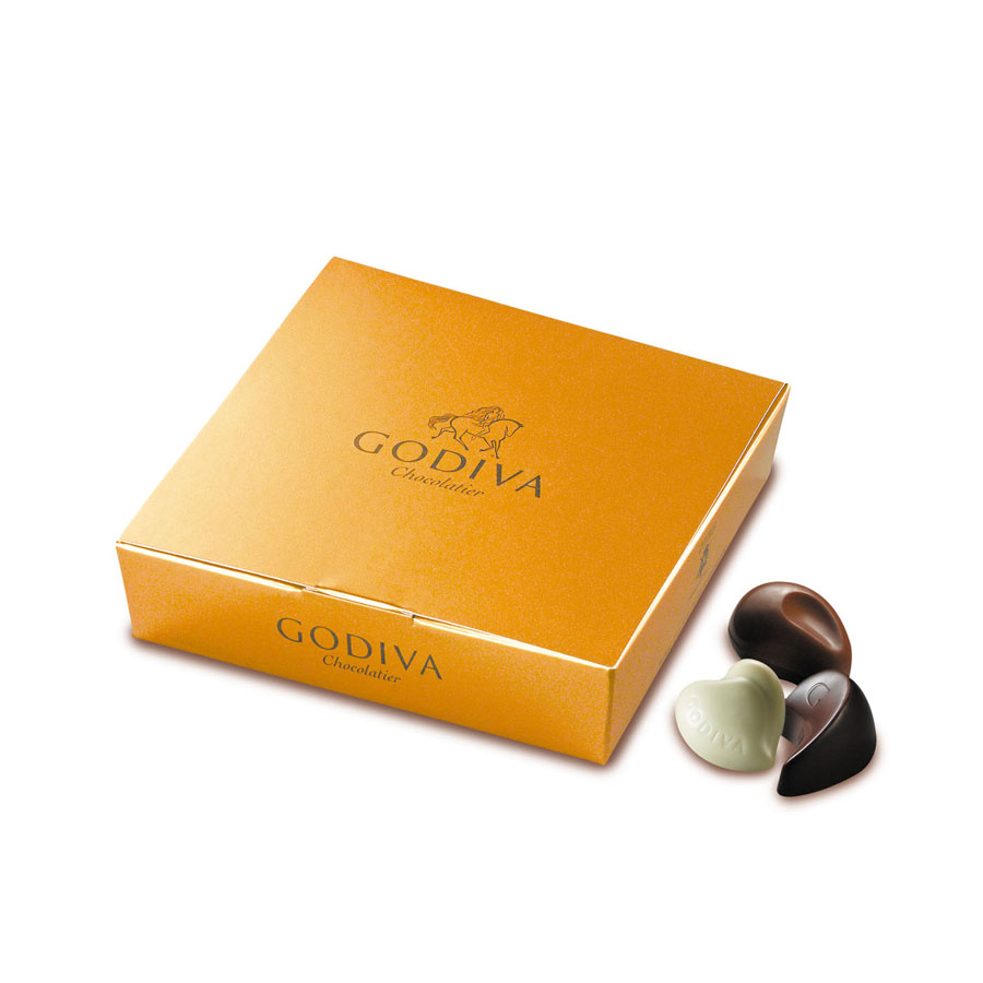 Godiva christmas luxurious white giftbox delivery in for Go diva