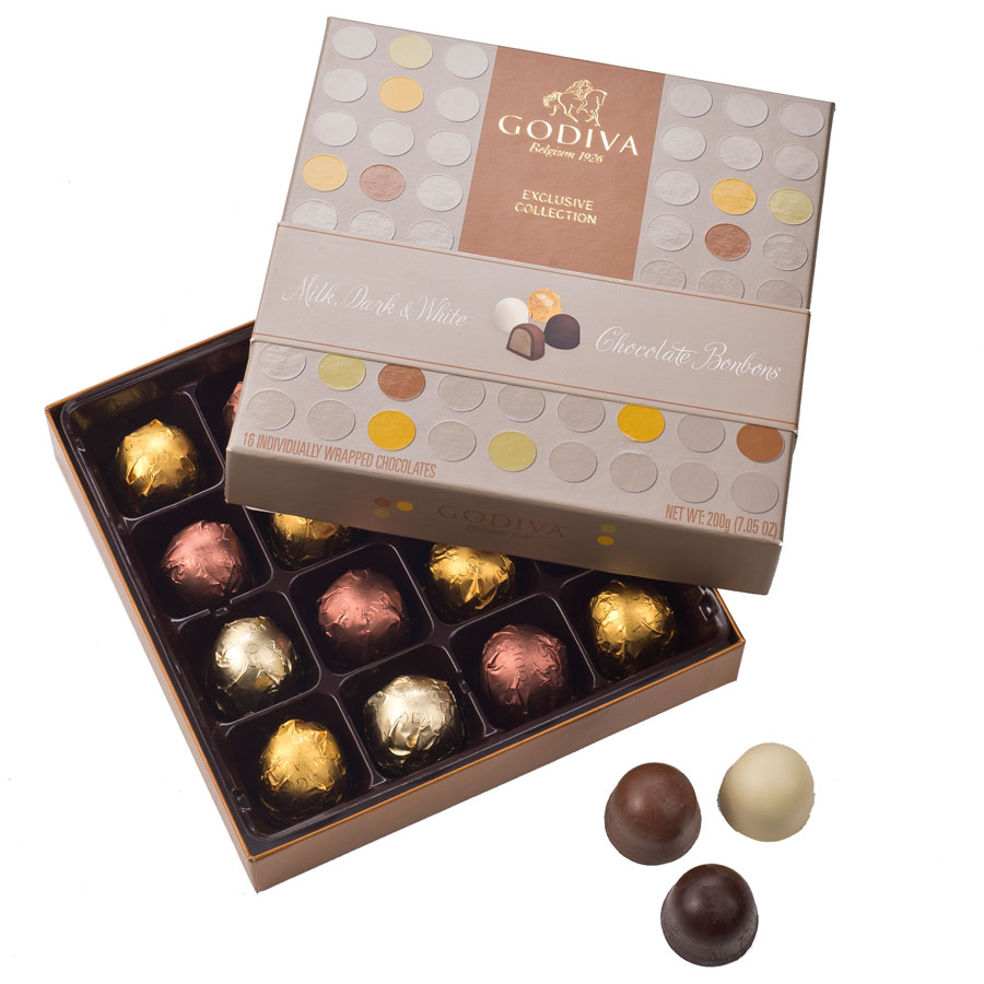 Godiva Chocolate Bonbons 16 Chocolates - Delivery in Europe Others ...