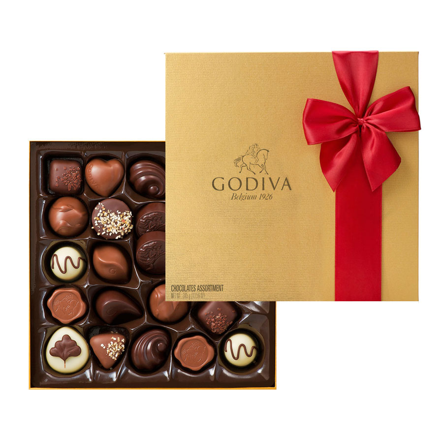 Godiva Gold Collection Gift Box 24pc - Delivery in Europe Others ...