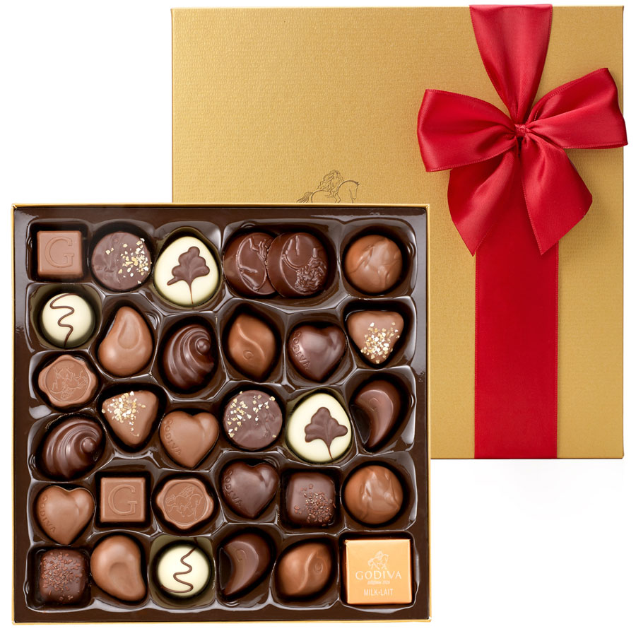 Godiva Gold Collection Gift Box 34pc - Delivery in Europe Others ...