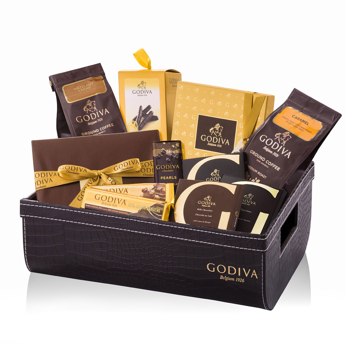 Wedding Gift Hamper Singapore : Godiva Truffles, Coffee & Biscuits Gift HamperDelivery in Europe ...