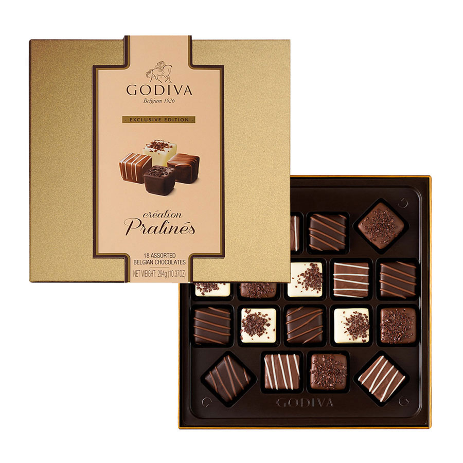 Godiva Chocolate Platinum Luxury Gift Tower - Delivery in Europe ...