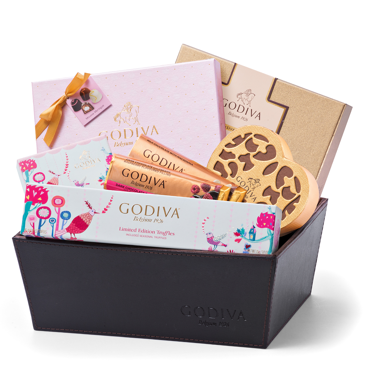 Top-Tier Chocolates for Valentine's Day Sweet confections that are sure to please Written by Cathryn Vaccaro This heart-shaped gift box is filled with delicious chocolates and seasonal truffles. Piece Keepsake Chocolate Heart, $, GODIVA, bauernhoftester.ml