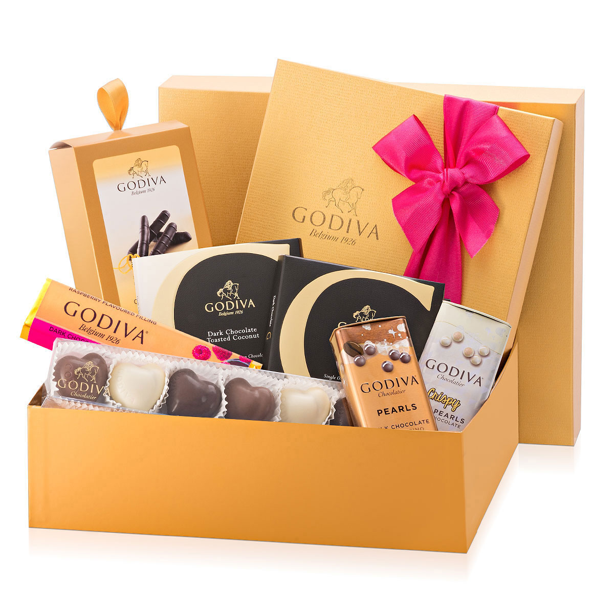 The chocolate gift box chesterfield : Godiva romantic gift box for her delivery in europe