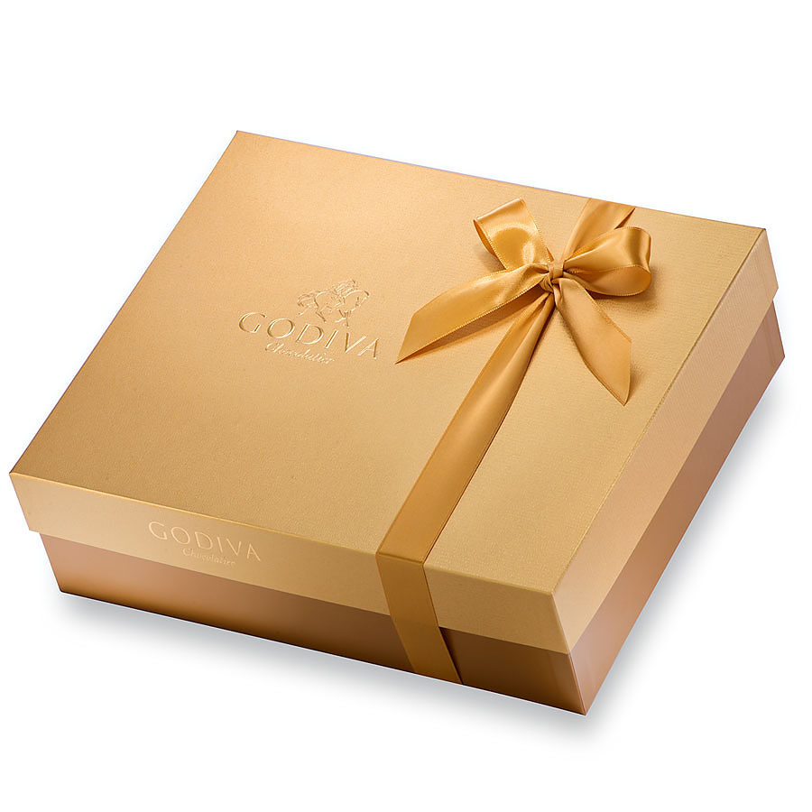 Chocolate gift boxes pictures : Godiva gift box for him delivery in europe others