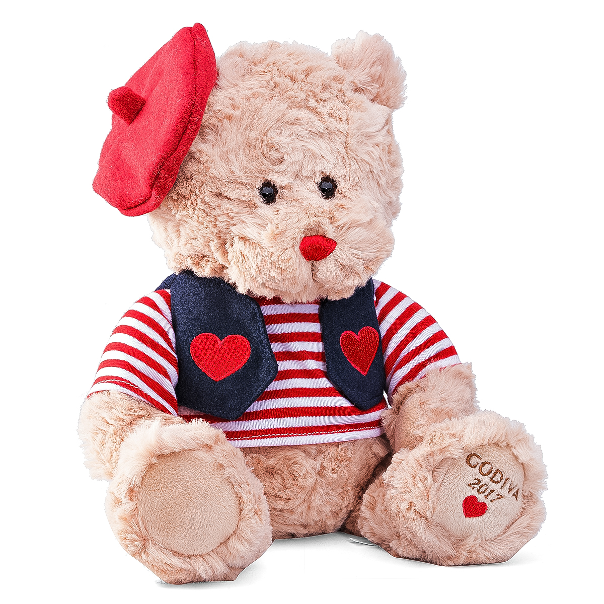 Roses Valentine S Day With Stuff Toys : Godiva valentine plush bear chocolates delivery in