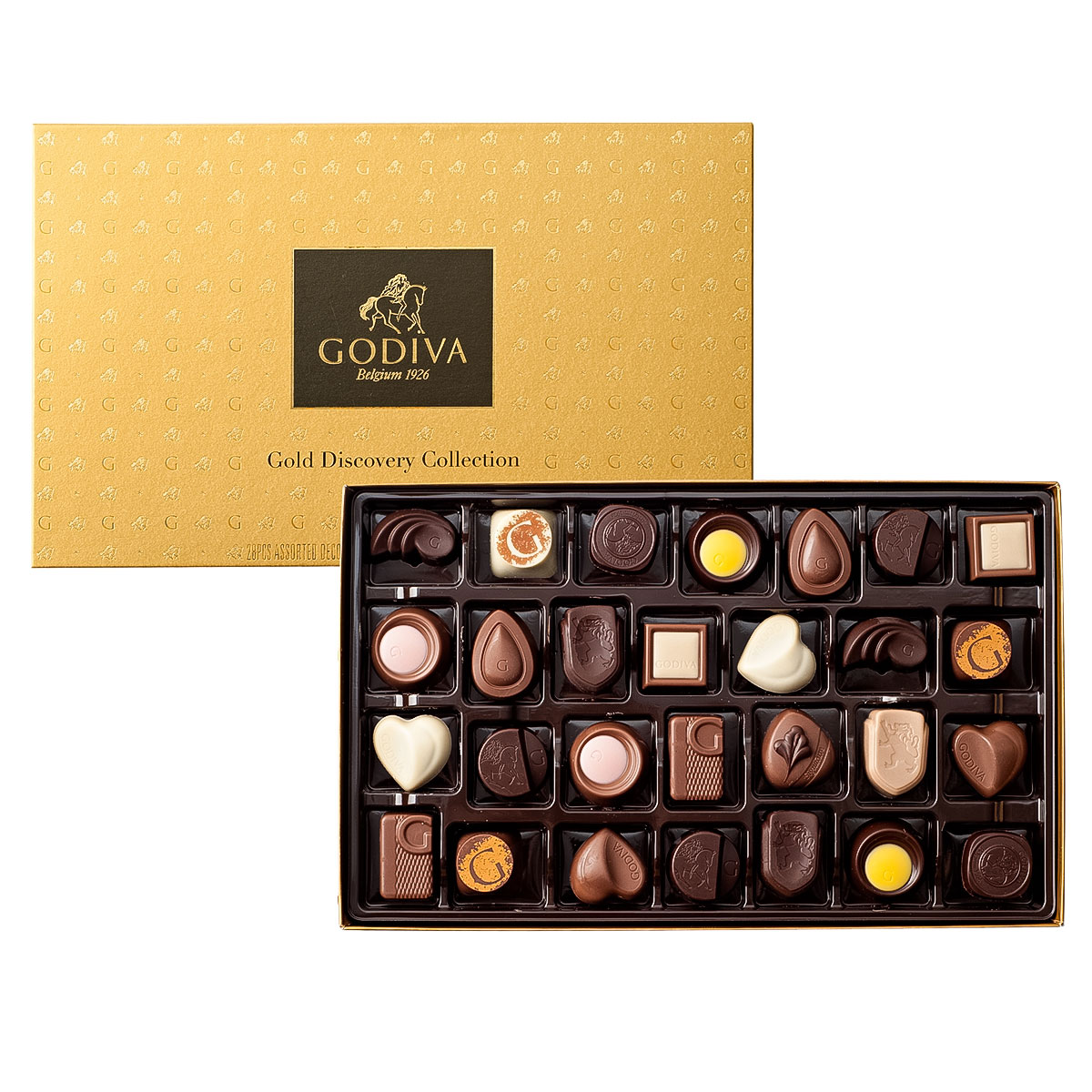 Godiva Gold Discovery Box 28 Pcs Delivery In Europe Others Godiva