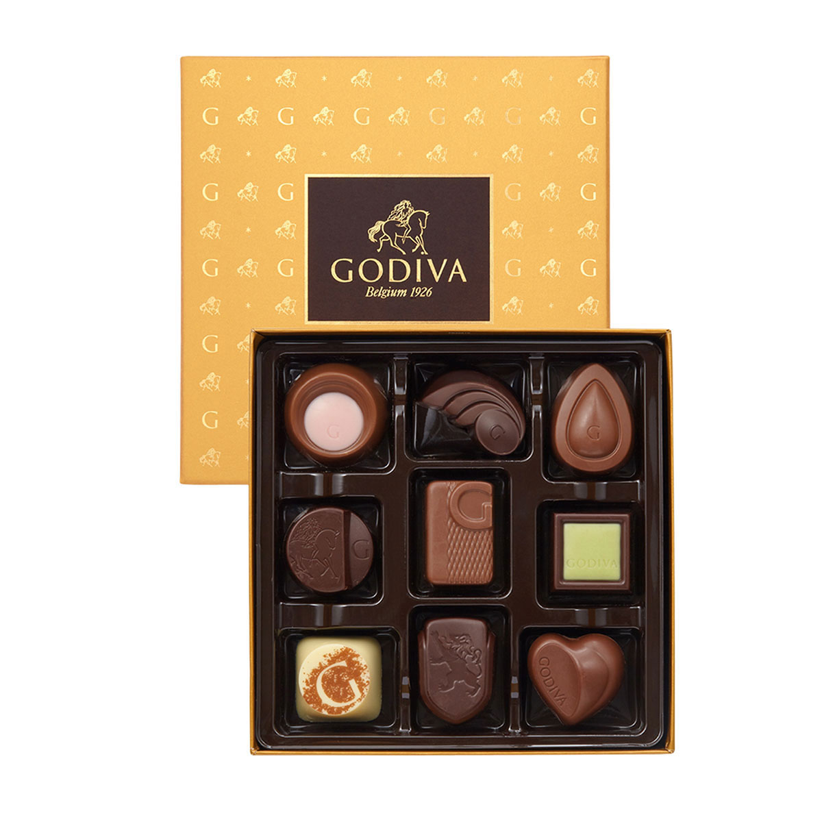 28dbdce4ca5b Godiva Summer Gold Gift Box Belgian Chocolates - Delivery in Europe ...